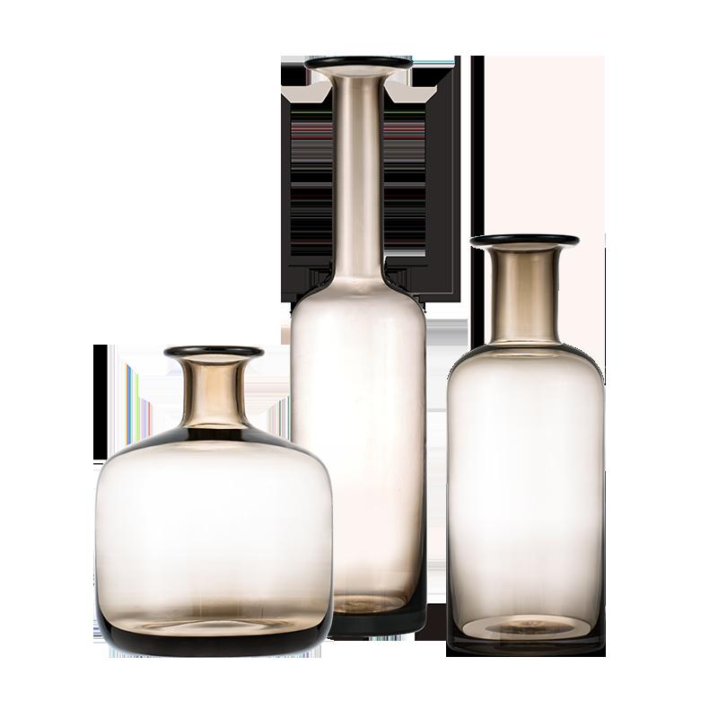Kenora凯诺拉 茶色玻璃花瓶