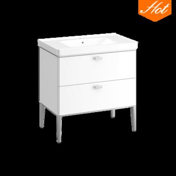 Alva阿尔瓦 浴室柜800(白)