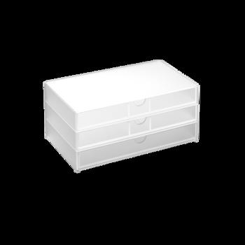 Mons蒙斯 亚克力三层收藏盒